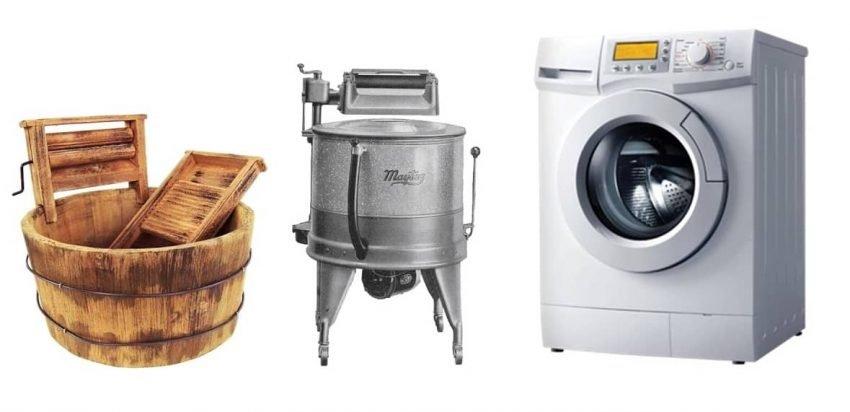 ilk çamaşır makinesi
